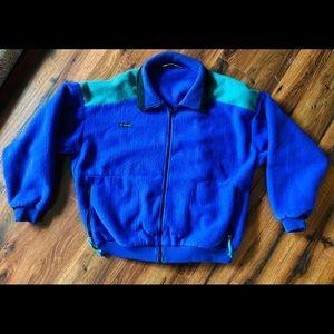 Vintage 90's Columbia Color block Fleece Jacket